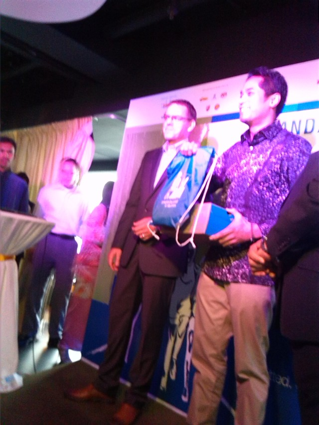 Sport Minister YB Encik Khairy (far right) at SCKLM 2014 launch