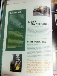 Article published in Cycling Malaysia Magazine