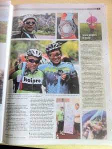 About Kedah Century Ride 28/Mar/2015 in The Star newspaper