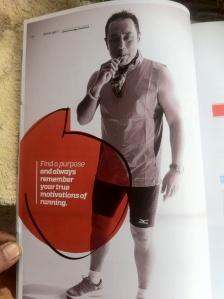 Happy Runner in Running Malaysia magazine