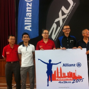 Allianz Pacesetters Relay 2015 Media Invitation at Kiwanis, Taman SEA