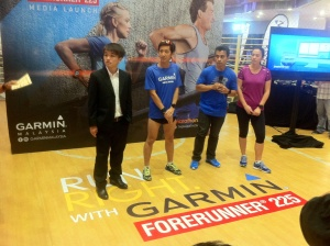 Garmin Forerunner 225 gps watch product launch at Lot 10, KL