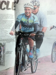 Malay Mail interview of Blind Tandem Cyclists