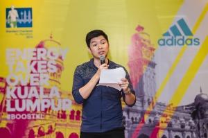 David Wong is adidas all day