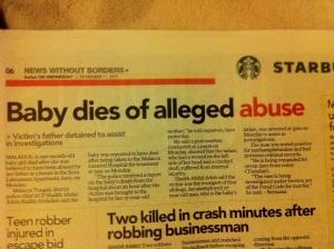 A Crime Against Society