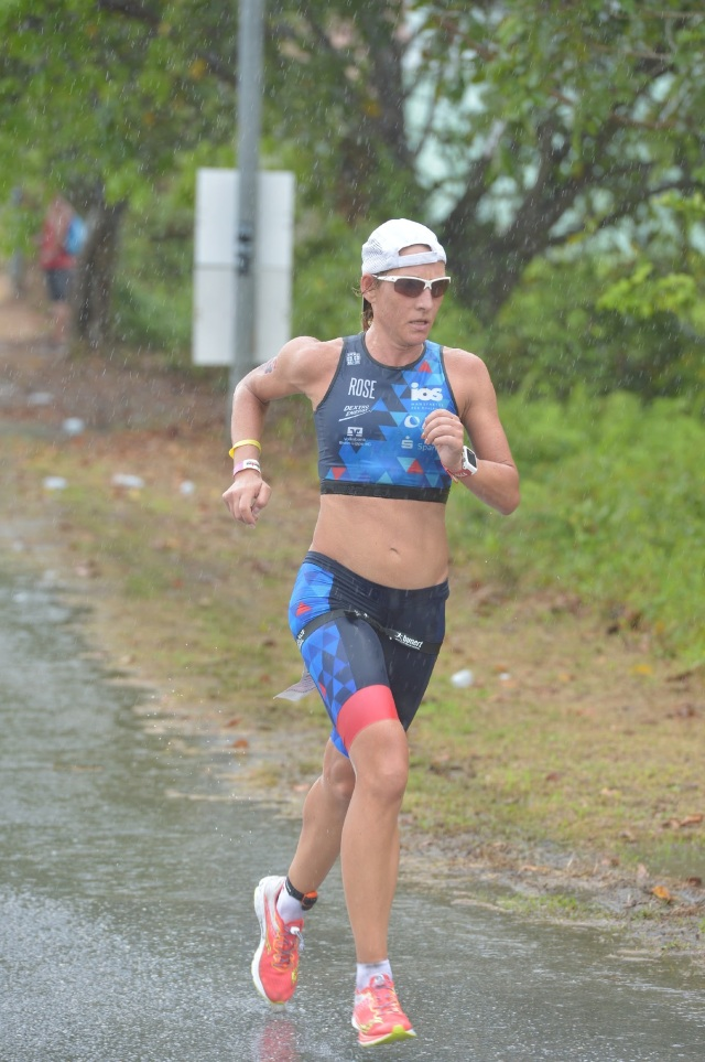 Mareen Hufe giving her best at the run course_preview.jpg