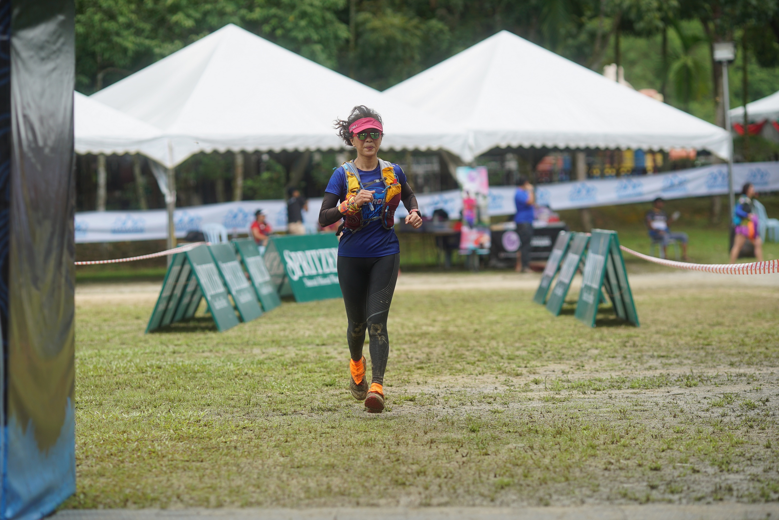 6) MMTF 2018 - Claris Loke still going strong and running towards the finish line