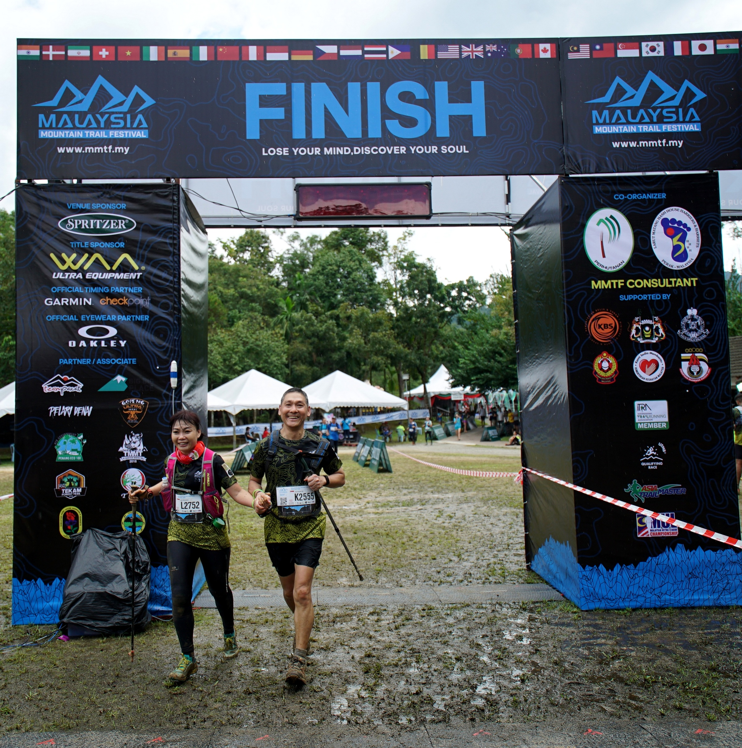 7) MMTF 2018 - completing the gruelling challenge hand in hand