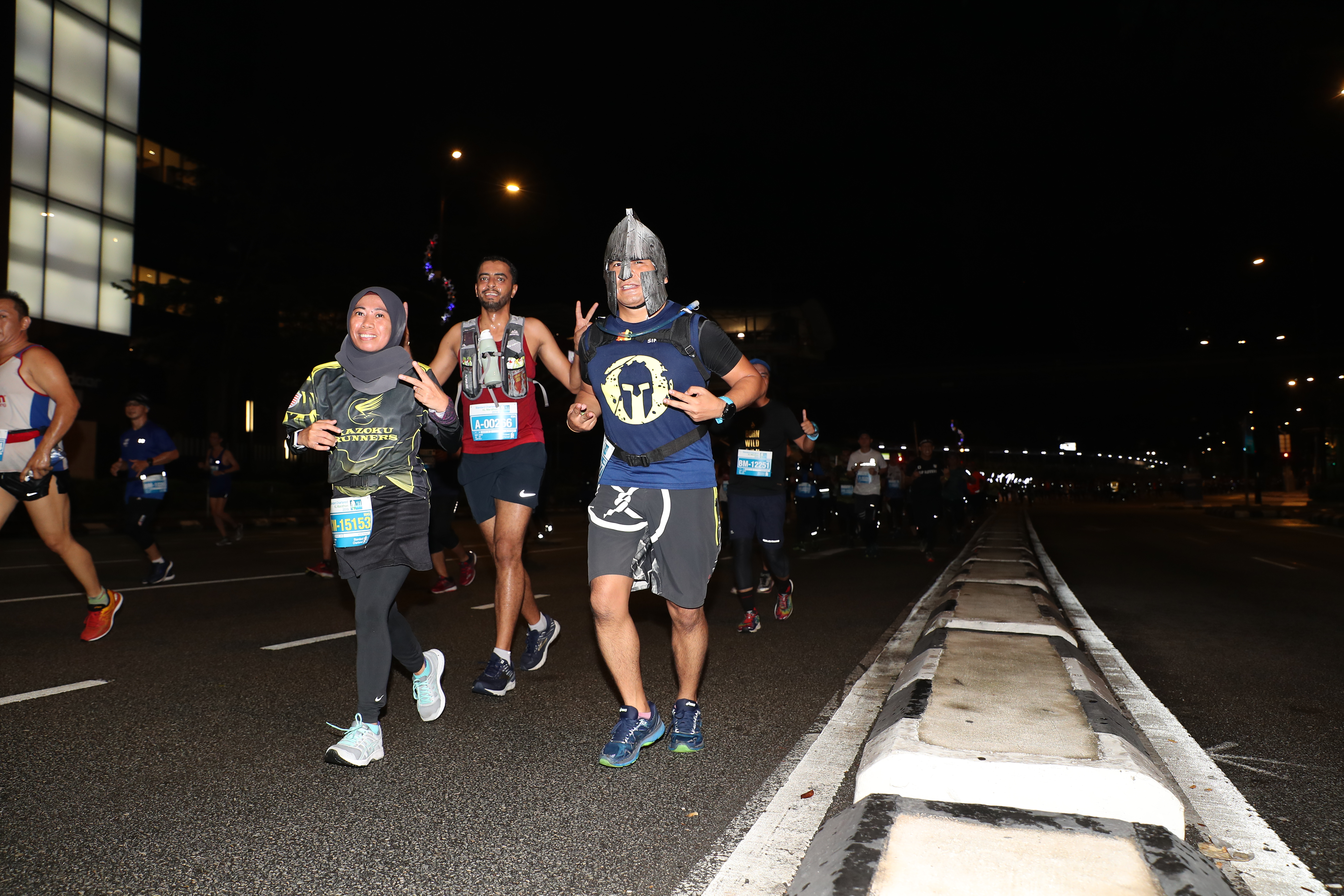 Costumed Runners 1