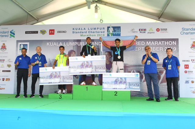 KLSCM2019 FM Malaysian Men with Abrar and Ong Kian Ming (left) and Khalid Samad and Datuk Wira Mark Ling (right)